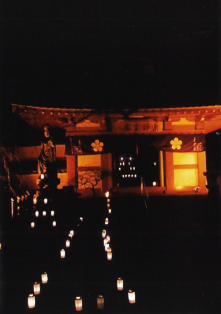 万灯会の梅照院
